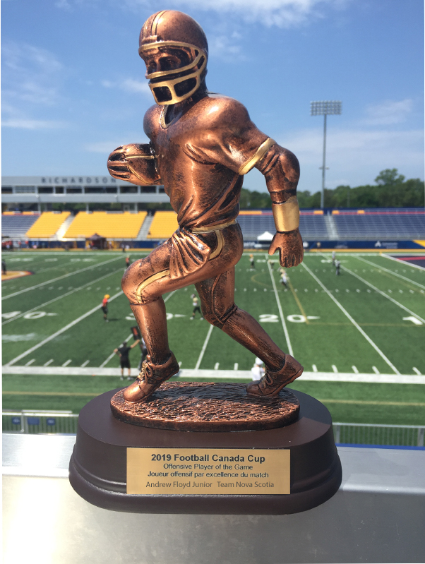 Offensive Player Of The Game Trophy